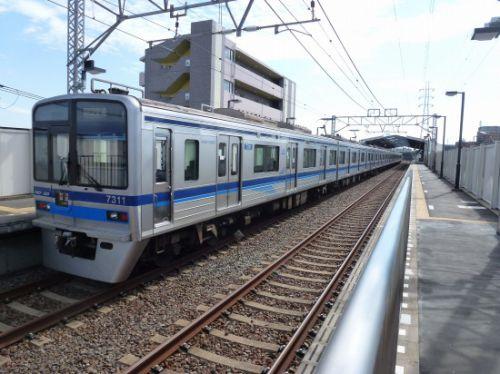 新柴又駅【東京都】(北総鉄道北総線。2017年訪問)