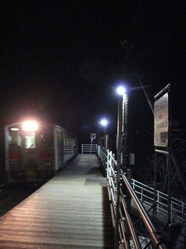 久しぶりの花咲線始発列車
