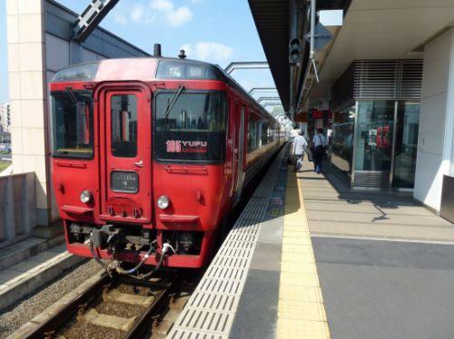 久大本線・小野屋駅~大分駅の車窓風景