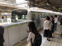 田町駅で普通外回りにお乗り換え