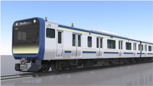 横須賀総武快速電車、新型E235系に置き換え!∠( ゚д゚)/