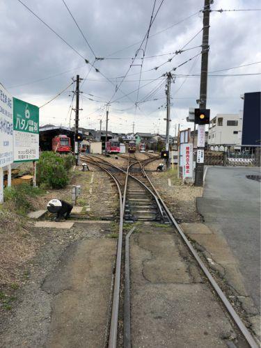 日本一の急カーブ☆豊橋鉄道