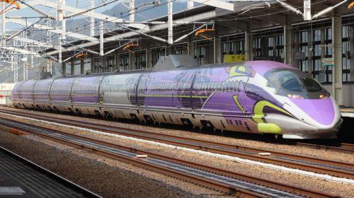 5月でエヴァ新幹線「活動限界」 500系こだま「500 TYPE EVA」 岡山駅に連日ファンが駆け付け