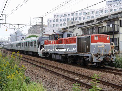 電車を運ぶ甲種輸送 横浜線