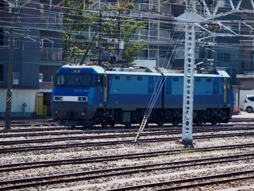 JR貨物(10/9):とある日の南松本駅にて