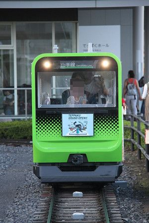 鉄道博物館のミニ運転列車