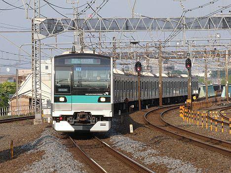 常磐線 千代田線直通 各駅停車 成城学園前行き2 E233系2000番台