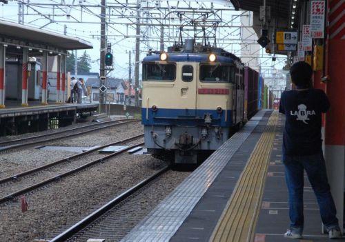 直流電気機関車EF65-2139【武蔵野線:西国分寺駅】 2018.SEP(4)撮り鉄 車両鉄