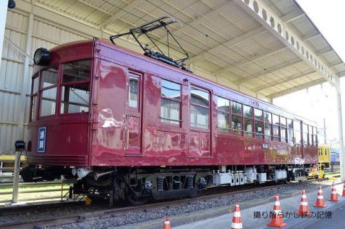 京急 久里浜工場(2019.5.19) ファミリー鉄道フェスタ2019 旧湘南電気鉄道デ1 保存車