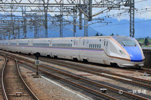 上越新幹線E7系限定デザイン