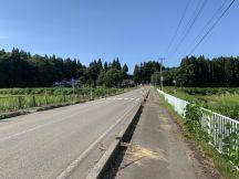 田沢湖線生田駅から徒歩4.5km、こちら秋田県仙北市角館白岩新下掵と下掵(したはば)
