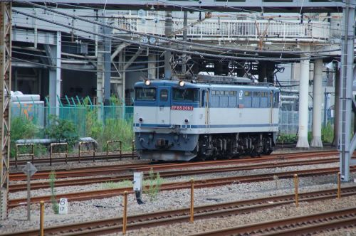 EF65-2063 【東海道線:鶴見駅脇】 2019.9.4