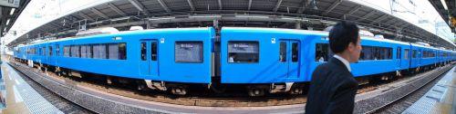 京急2100系ブルースカイトレイン パノラマ 【京急線:横浜駅】