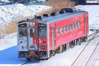 「キハ54‐521」(地球探索鉄道花咲線ラッピングトレイン)