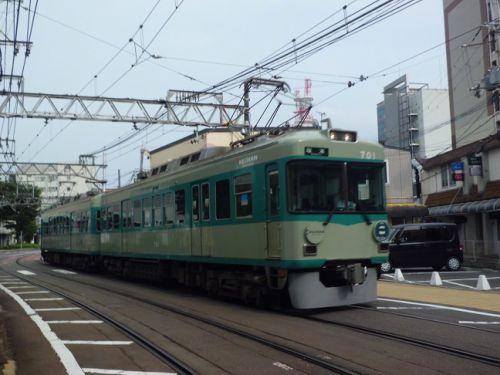 京阪700形「80形復刻塗装車」ラストラン