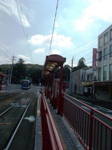 東山・おかでんミュージアム駅停留場 岡山電気軌道東山本線