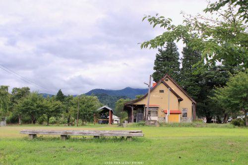 廃線の駅舎
