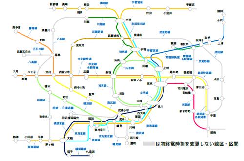 【JR東日本】ダイヤ改正における終電時刻繰り上げ等の概要を発表。17線区で終電繰り上げを実施(2021年春)