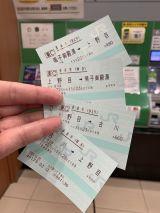 古川駅指定席券売機で鳴子御殿湯駅までの乗車券を2分割かつ往復で購入、古川→上野目のゆき券で入場して普通鳴子温泉行きに乗車