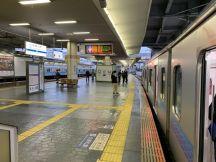 相模大野駅で始発各停片瀬江ノ島行きにお乗り継ぎ