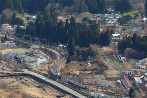 帰っていく汽車、来る電車 - 2020年・東武日光線 -