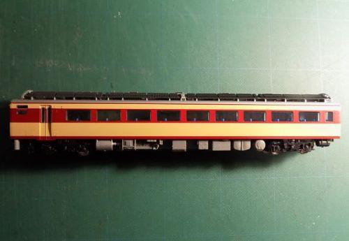 【1/80】TOMIXのHO-044国鉄キハ181系特急形ディーゼルカーを弄る その2