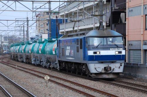 EF210-135 【西国分寺駅:武蔵野線】 2020.3.5