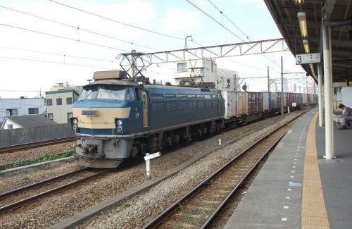 EF66-24 【尻手駅:南武支線】 200810.3 過去帳より